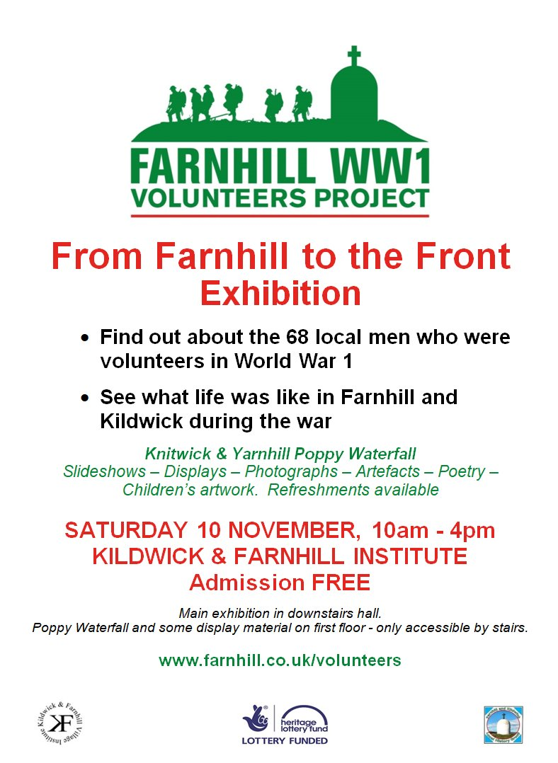 From Farnhill to the Front - Exhibition